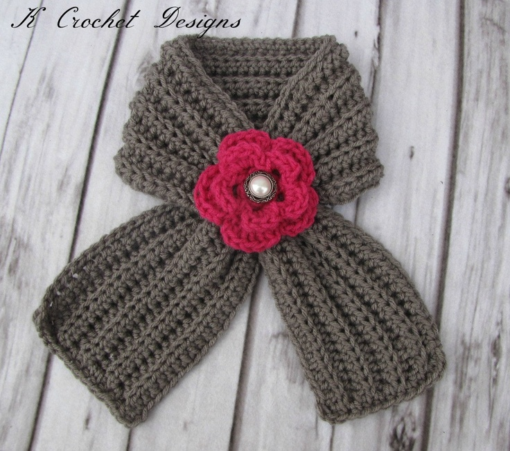 Free Patterns For Knitted Afghans : Gotta get this for my baby girl.Crochet toddler scarfribbed scarf with by KCr...