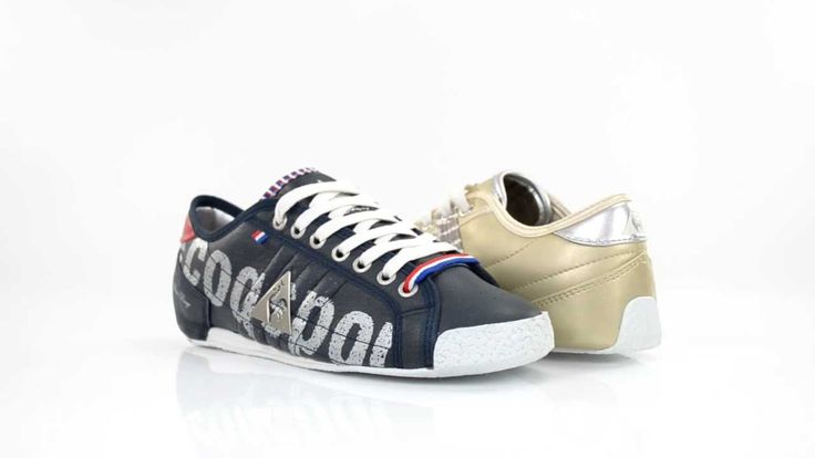 Le Coq Sportif Women Shoes Escrime Bbr Low Women Dress Blues - pinning now to check into later.