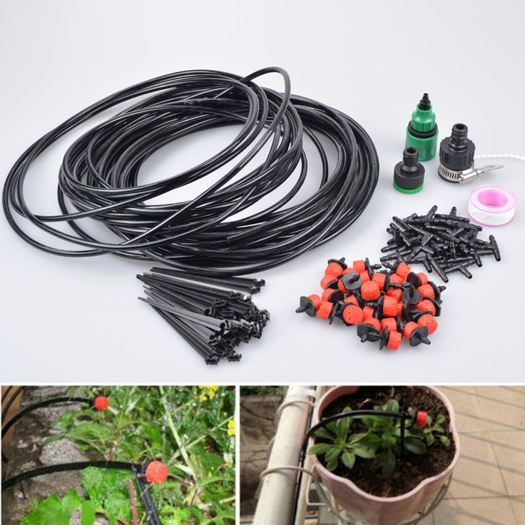 (10-25m)Mangueira Drippers Automatic Garden Watering Gardening Set Of Watering Irrigation System Lawn Garden Plants Irrigation