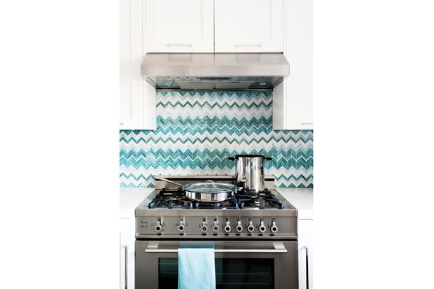 marin kitchen 2 - Ocean Palette | California Home + Design love these tiles