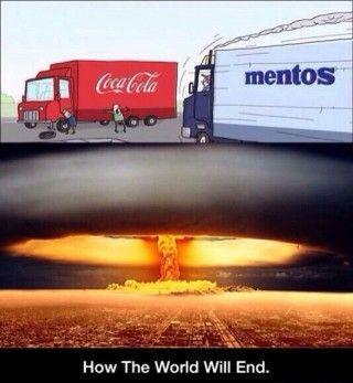 Mixing Cola With Mentos