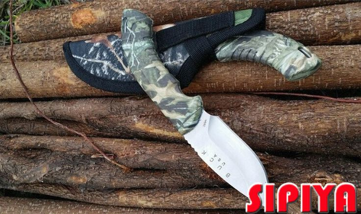 New Arrival Military knife OEM Buck hunting knife , outdoor knives, surrival knife ,Freeshipping