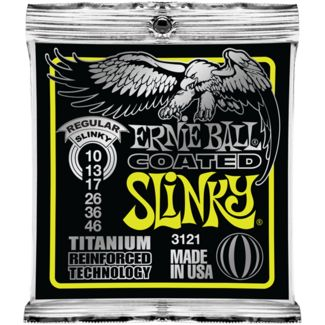 Ernie Ball Coated Slinky Electric Guitar Strings