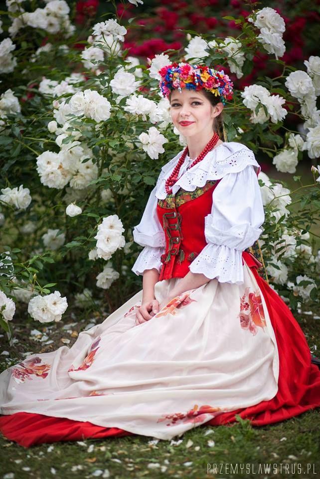 Bytom, region of Silesia. Polish Folk Costumes / Polskie stroje ludowe