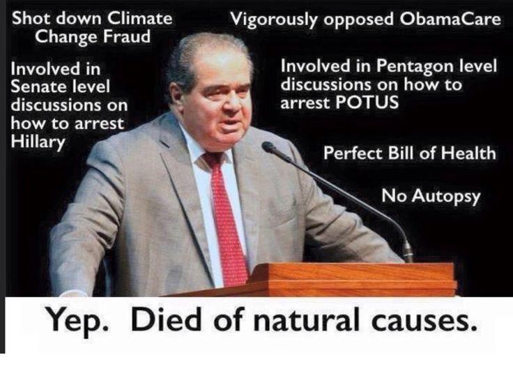 Natural causes? Yeah, no!