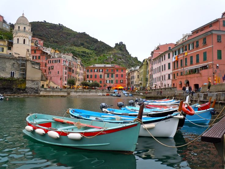 Cinque Terre, Italy - Amazing hike with breathtaking views.