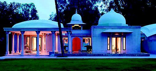 Pavilion Pool Villa at Amanbagh, Rajasthan, India