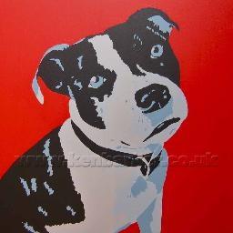 """Painted portrait commissions by Ken Barker. £150 on 20""""x 20"""" canvas Plus P+P"""