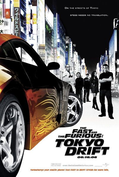 FAST AND FURIOUS 3 POSTER - See the best of the FAST AND THE FURIOUS
