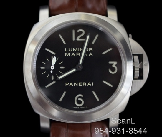 Panerai 177 Luminor Marina Manual Titanium 44mm  http://www.collectionoftime.com/specification.php?wid=282=16=11