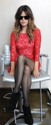 rachel bilson: Rachelbilson, Fashion, Red Lace, Clothes, Style Inspiration, Style Icons, Rachel Bilson, Lace Dresses