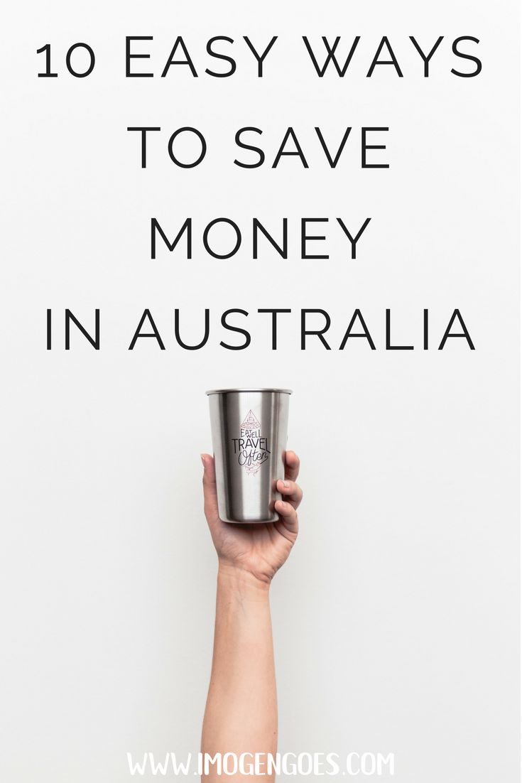 Working holiday in Australia or just trying to budget your trip? Here are ten easy ways to save money in Australia that anyone can use!