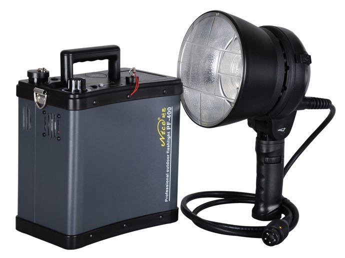 Профессиональный аккумуляторный импульсный свет NiceFoto PF-600 (крепление bowens)