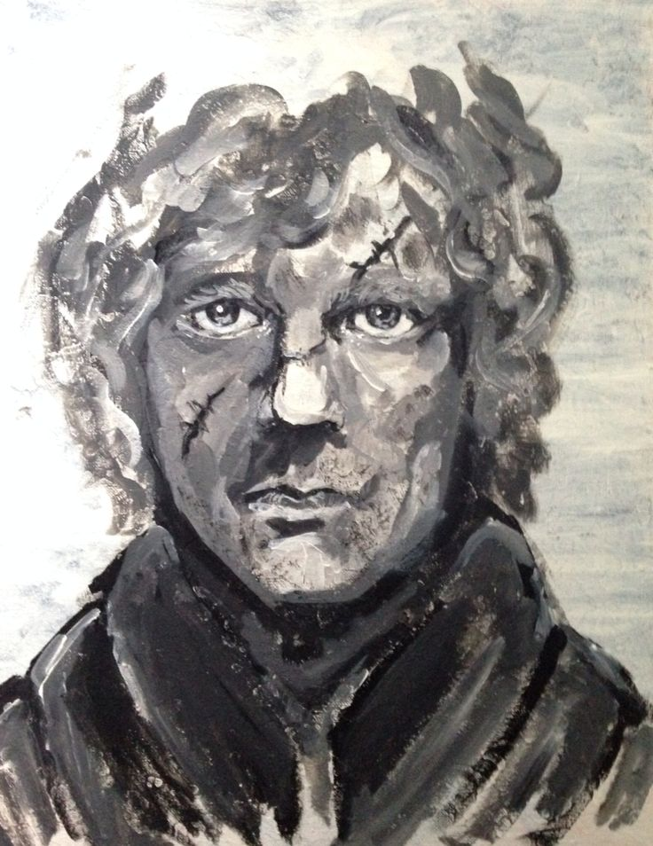My Painting of Tyrion Lannister