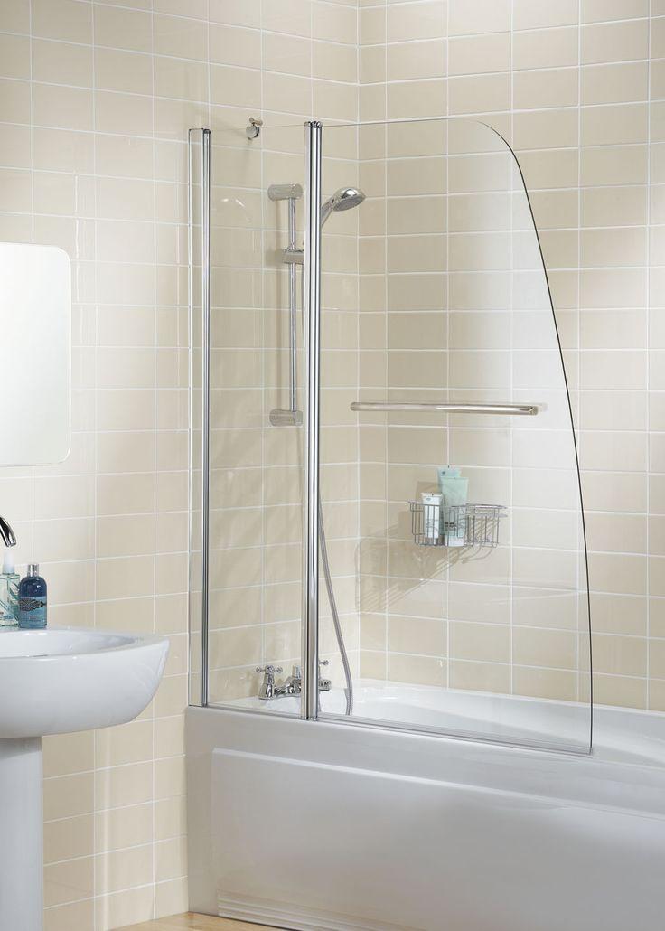 Sculpted Bath Screen |  Lakes Bathrooms