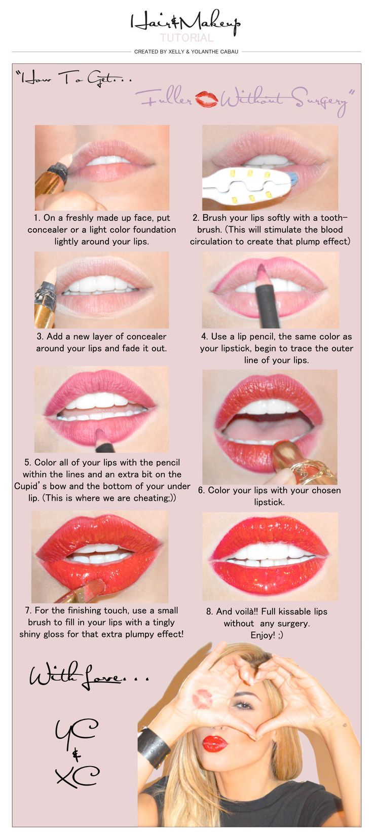 10 Beauty Infographics to Pin Now and Use Later