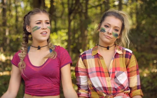 "Maddie & Tae Release Another Music Video Gem With ""Shut Up And Fish"""