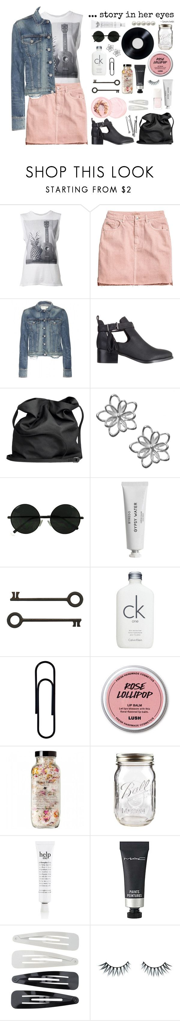 """""""///The music in her eyes///"""" by tessicat ❤ liked on Polyvore featuring Sundry, H&M, rag & bone, SPURR, Ann Demeulemeester, The Body Shop, Christian Dior, Calvin Klein, BOBBY and philosophy"""