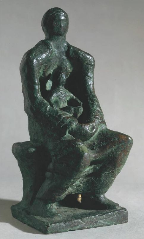 Madonna and Child - Henry Moore, 1943