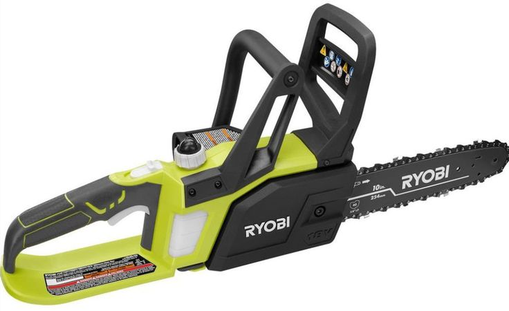 Ryobi ONE+ 18-Volt Lithium-Ion Cordless Chainsaw -Battery and amp; Charger Not #Ryobi #ChainSaw #Cordless #Tool #Equipment