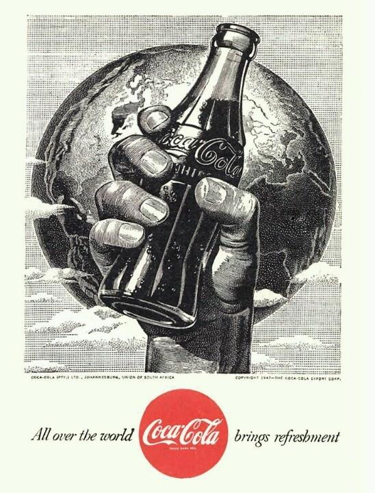 Coca Cola world...