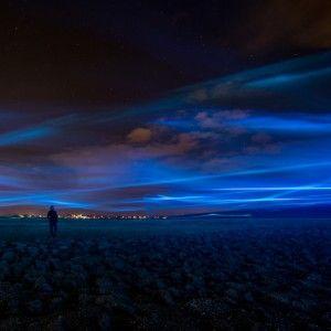 Daan+Roosegaarde's+Waterlicht+installation++mimics+northern+lights+in+Dutch+skies