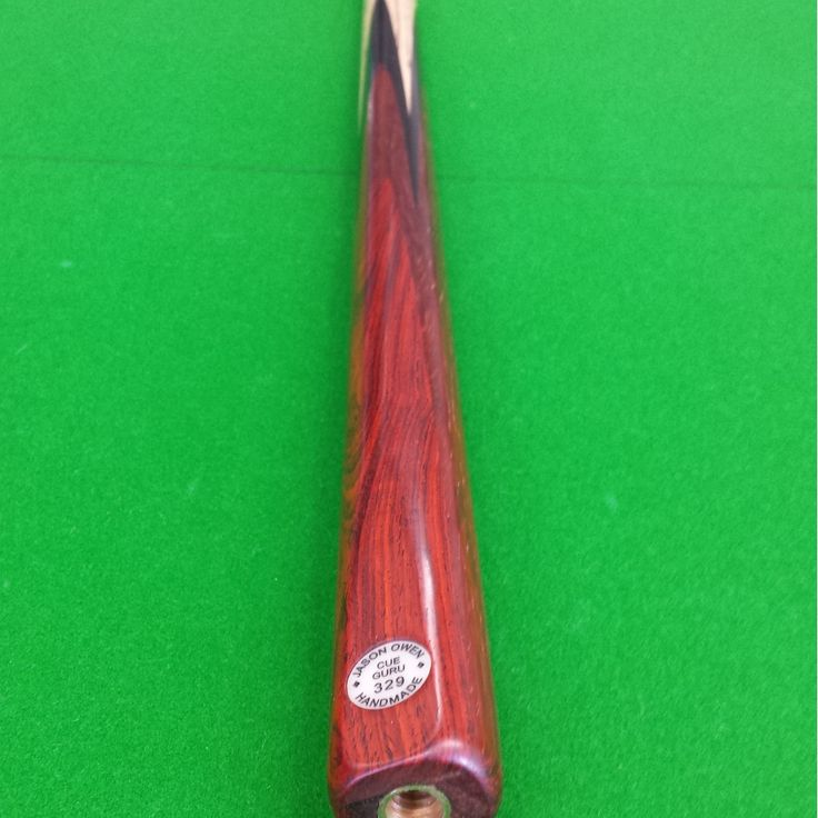 Jason Owen Snooker Cue Hand Crafted One Piece Cue With