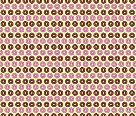 Sweet Delicious Doughnuts fabric by susie-lotta_designs on Spoonflower - custom fabric - donuts