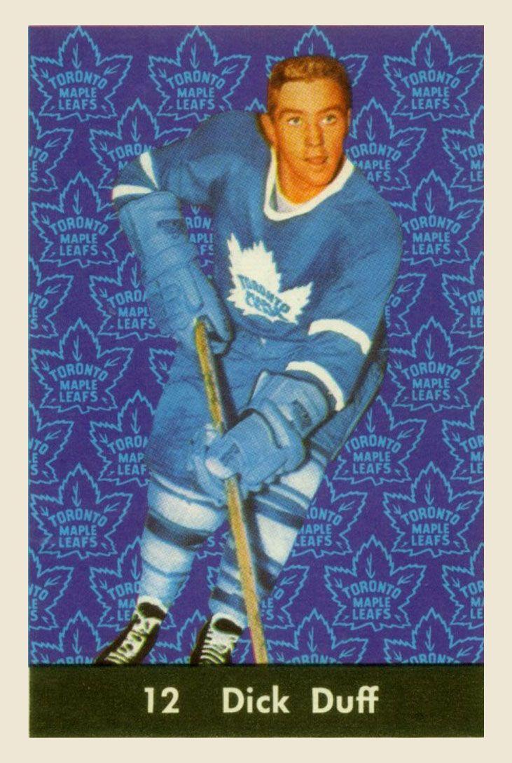 Dick Duff  1961-62  Parkhurst Hockey Card