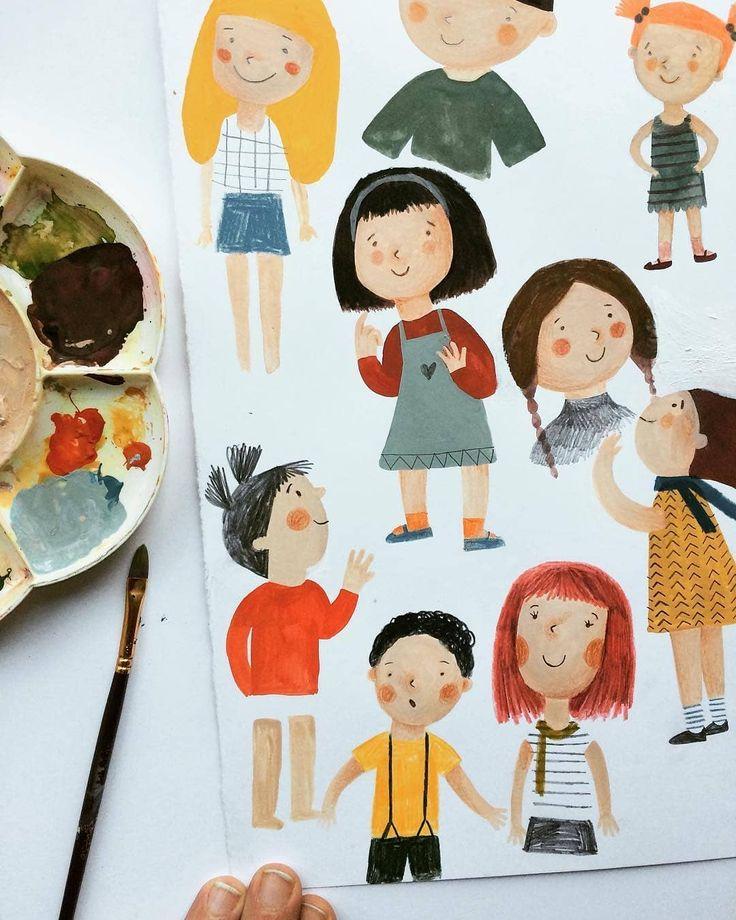 """220 """"Μου αρέσει!"""", 1 σχόλια - Рукоделие со всего мира (@handmade.idei) στο Instagram: """"@fotinitikkouillustration  #children#book#illustration #illustrator #art #artwork#artist…"""""""