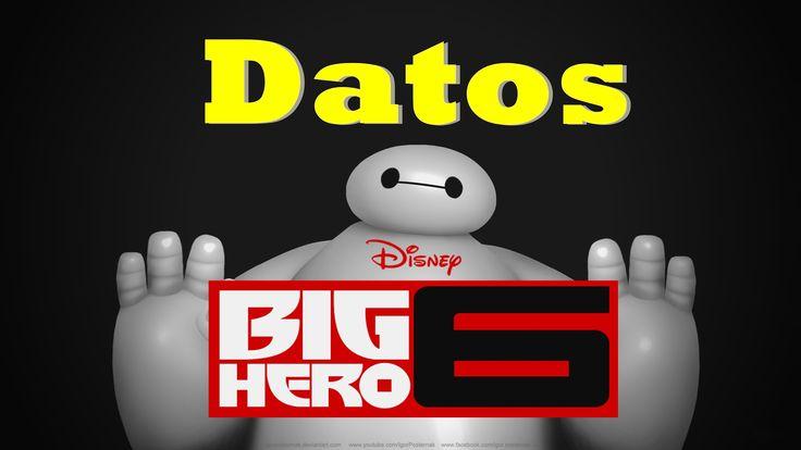 curiosidades de grandes heores (big hero 6)