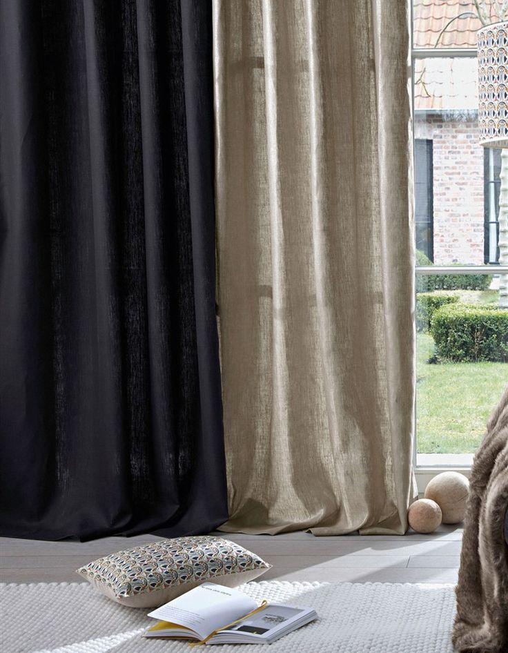 Les 25 meilleures id es de la cat gorie rideaux voilages sur pinterest rideaux et voilages for Voilage en lin