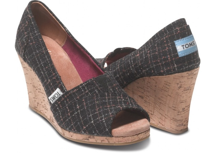 Black Boucle Women's Wedges hero  Gimme Gimme!