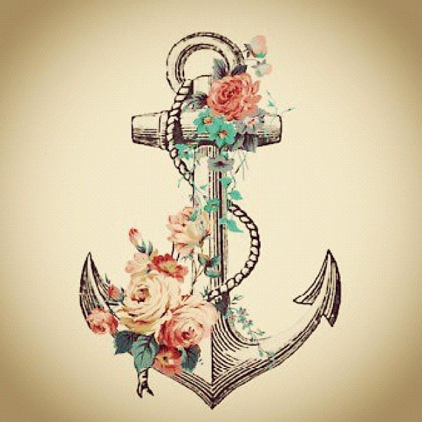 "Anchor tattoo idea. With Hebrews 6:19 inside, ""We have this hope as an anchor for the soul, firm and secure. It leads us through the curtain in to God's inner sanctuary."""