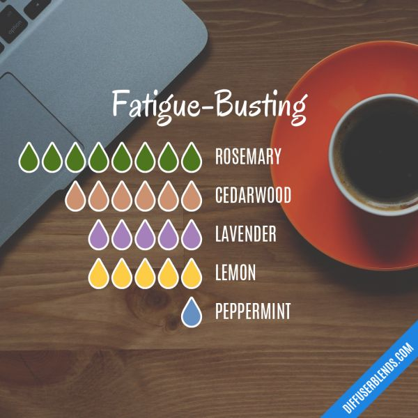 Fatigue-Busting - Essential Oil Diffuser Blend