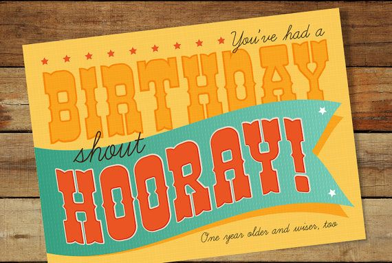 Hooray, You had a Birthday. Digital instant download. LDS Primary Birthday Song
