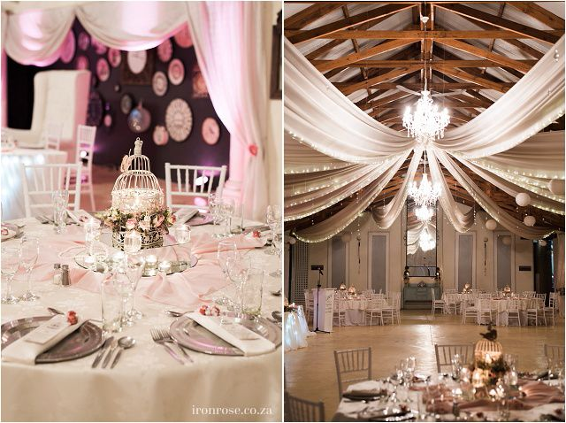 Vintage themed inspired wedding with touches of pink at Casa-lee Country Lodge in Pretoria East