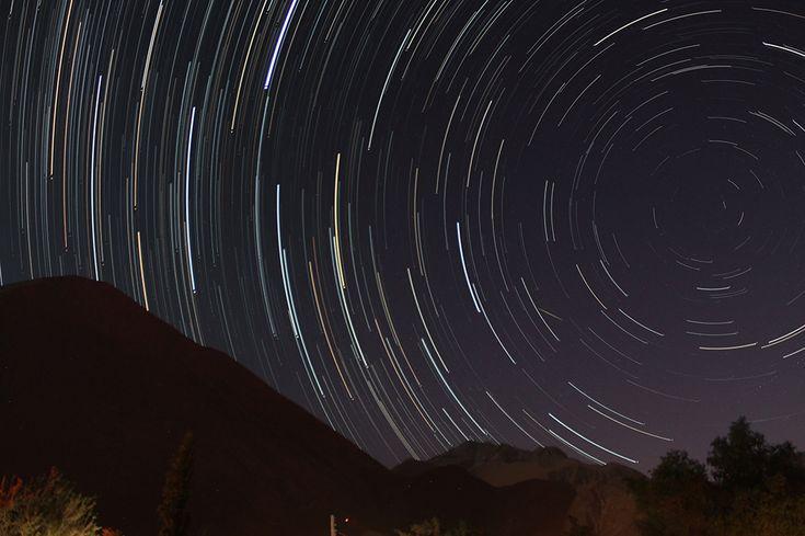 FOTOS DE NUESTROS AMIGOS Star Trails desde el Valle del Elqui