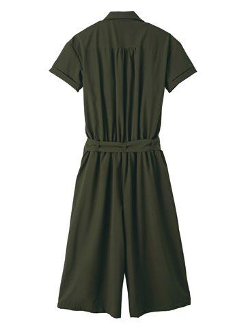 ガウチョオールインワン ワンピース・チュニック   女性ファッション通販サイトFABIA(ファビア)