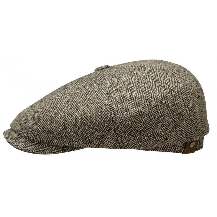 Stetson Schiebermütze Hatteras Silk mit UV-Schutz 40+ - Breiter Hut & Mode