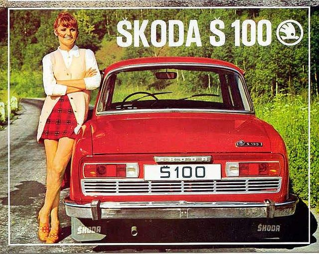 My dream car: a vintage Skoda