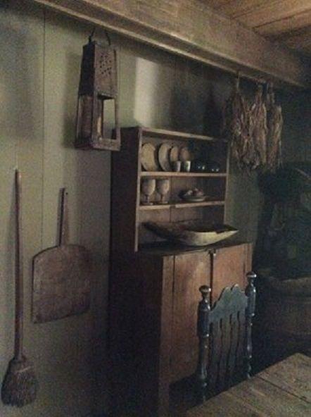 Beautiful primitive room
