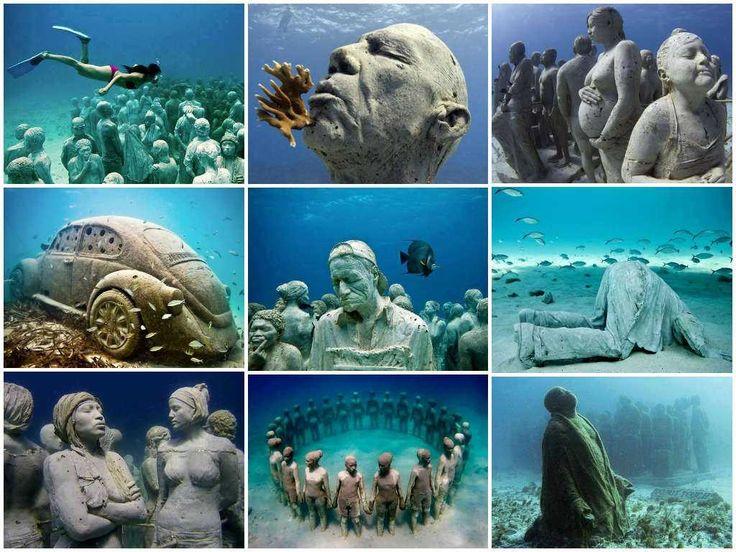 Cancun Underwater Museum in Cancun, Mexico