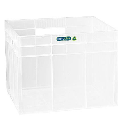 Perroplas clear hobby cube. Storage doesn't get any simpler.