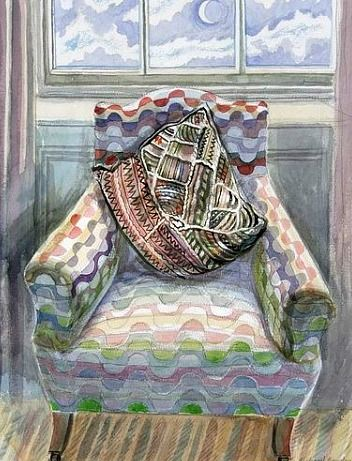 Richard Bawden Patterned Chair 21st century