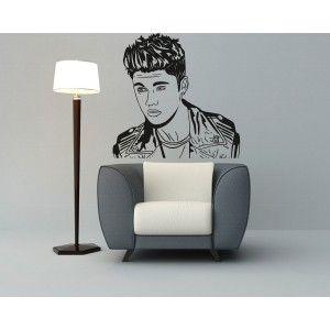 Justin Bieber Wall Sticker