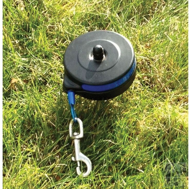 Retractable Cable Tie Out - Howard Pet Products Inc 401 - Pet Collars & Leashes - Camping World #DogProducts