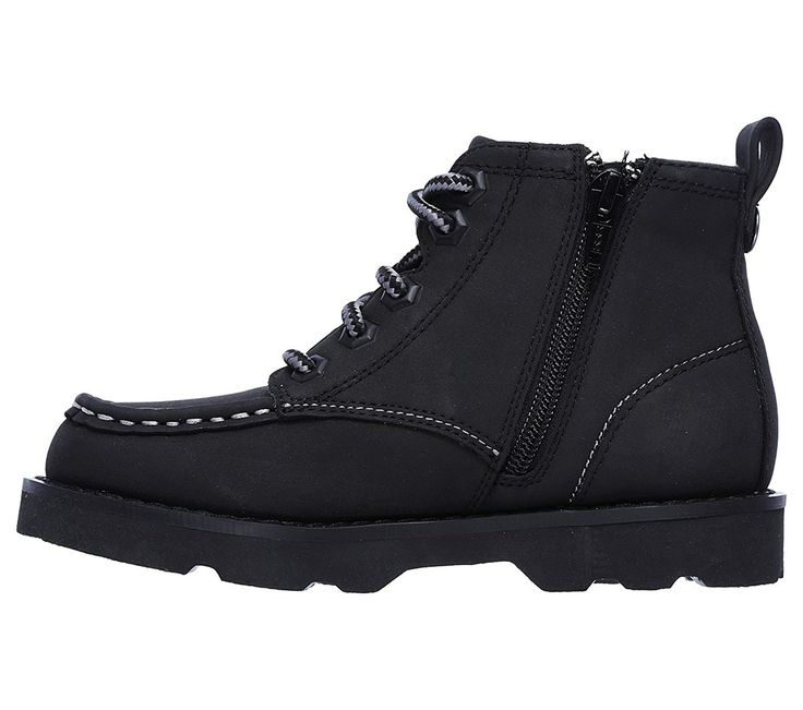 Amazon.com | Skechers 93636L Boy's Bowland - Timberpine Boots | Boots