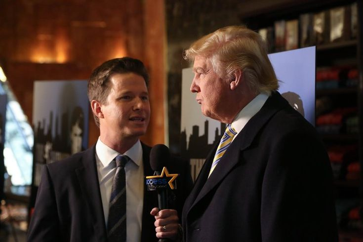Billy Bush: Yes, Donald Trump, You Said That.  The president is currently engaging in some revisionist history.
