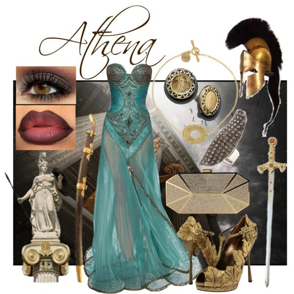 """Athena, Goddess of War"" by lala-romano on Polyvore"